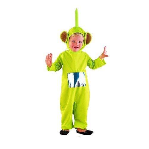 Takestop® costume teletubbies cartone animato travestimento carnevale bambino bambina unisex festa party gioco (verde 5-7 anni)
