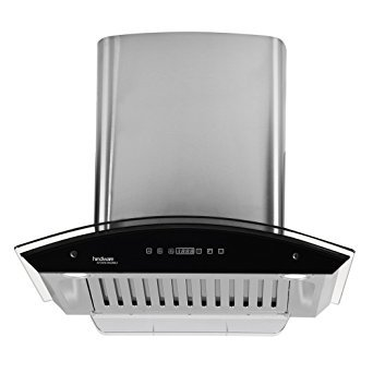 Hindware 60 cm 1200 m3/h Chimney (Cleo 60,Silver)