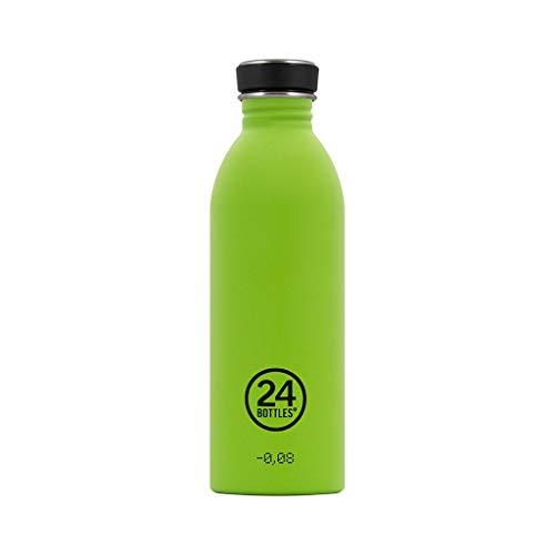 Trinkflasche 'Urban Bottle' aus Edelstahl 1 Liter, Farbe:lime green Lime Green Bottle