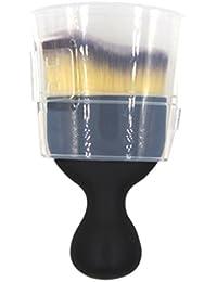QHGstore 1Pcs S Shape Foundation Brush Face Contour Cream Powder Blush Makeup Brush NO.2