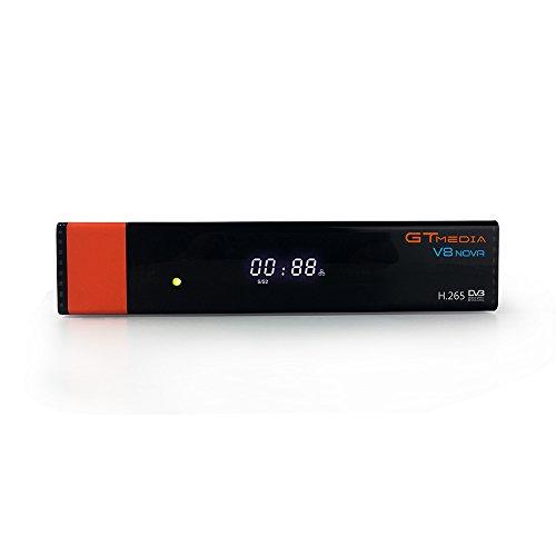 GTMedia V8 Nova DVB S2 TV Receiver Sender-Update-Update Freesat v8 Super Support 1080P Full HD PowerVu Biss Chiave Newca CCCAM Set-Top Box, mit integriertem WLAN