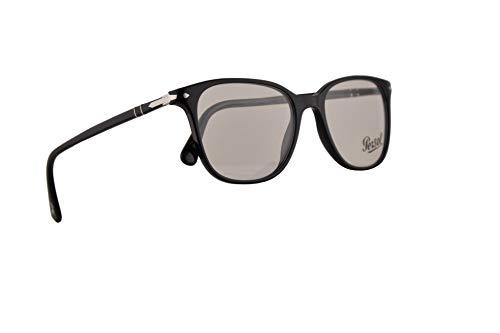 Persol PO3203V Eyeglasses 53-18-145 Black w/Demo Clear Lens 95 PO 3203V PO 3203-V PO3203-V