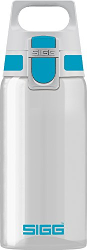 Sigg Total Clear ONE Aqua, Sport Trinkflasche, Tritan, BPA frei, Türkis, 0.5 L -