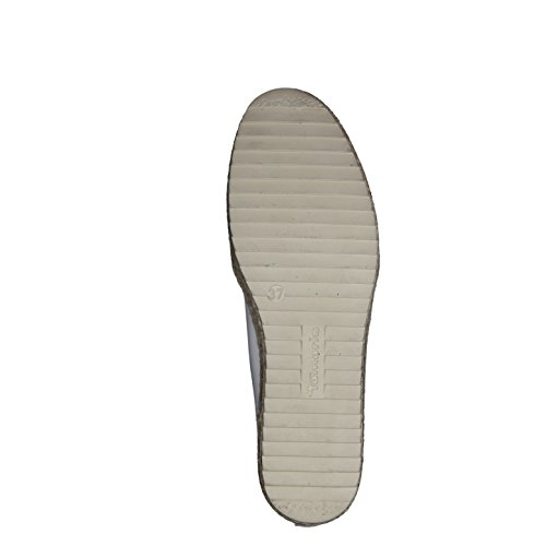 Pistone di signore 37 38 39 40 41 42 bianco Tamaris Slip on 1-24644-117 weiß
