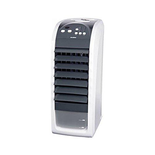 ALASKA Ventilator AIC 900   Luftkühler   70 Watt   3 Ventilationsstufen   Fernbedienung   Zeitschaltuhr   Luftbefeuchtung   LED Betriebskontrollleuchte   75 Grad Oszillatoren zuschaltbar