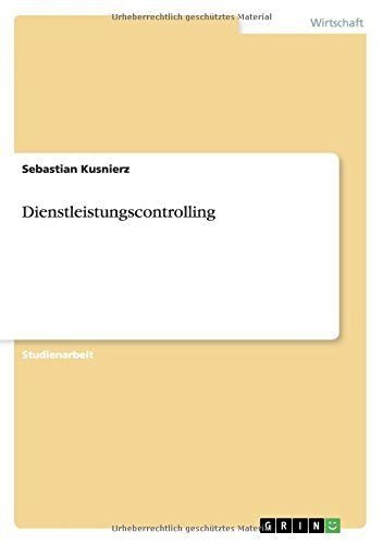 Dienstleistungscontrolling
