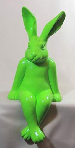 Vamundo Joli Lapin décoratif Vert