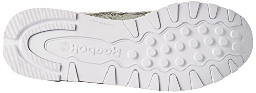 Reebok Classic Hd, Sneaker Donna Argento (Silver Met/snowy Grey/primal Red/white)