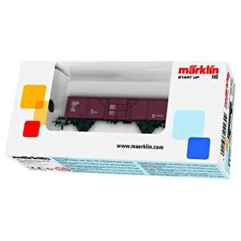 Mrklin 4431 h0 vagone merci aperto el u 061 con carico di carbone