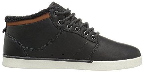 Etnies Jefferson Mid Men Sneaker dark grey Black/ White