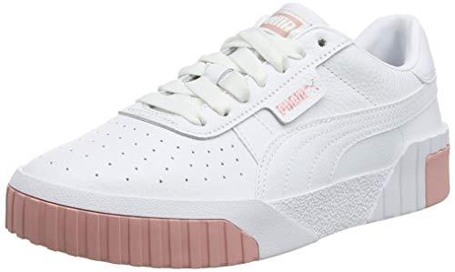 PUMJV|#Puma Cali Wn's, Zapatillas para Mujer, (Puma White-Rose Gold 07), 5 EU