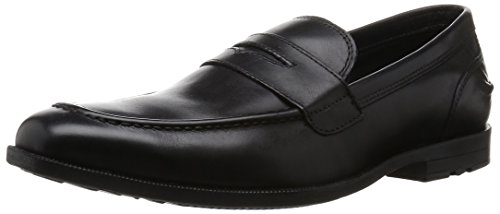 Rockport Global Road Moc Penny, Mocassins Homme Noir