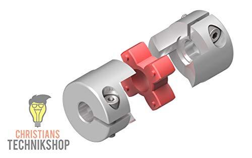 Wellenkupplung 30mm 12,5NM 5mm / 6mm | z.B für CNC,Schrittmotoren,etc