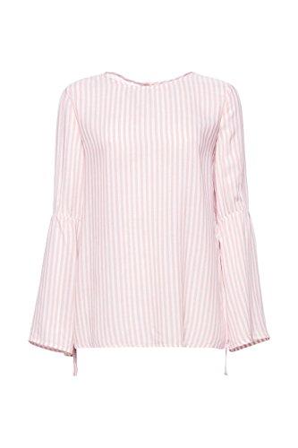 ESPRIT Damen Bluse Mehrfarbig (Light Pink 690)