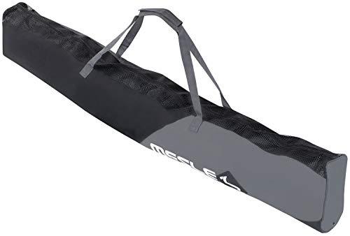 MESLE Wasserski-Tasche Universal, für Combo-Ski, Slalom-Ski bis 175 cm Länge, schwarz-grau