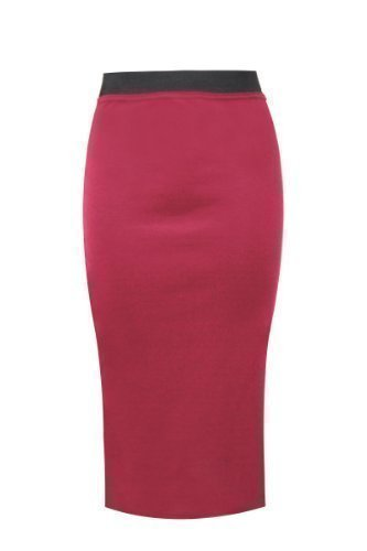 Amber Apparel -  Gonna  - Donna Rosso