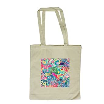 Underwater Rainbow, 1993 (coloured ink on.. - Long Handled Shopping Bag
