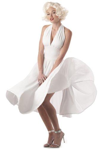 sches Marylin Monroe Kostüm L (Marilyn Monroe Film Kostüme)