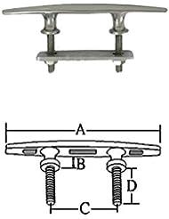 Niro Cornamusa montaje de la parte inferior a mm B mm C mm D mm 152196438