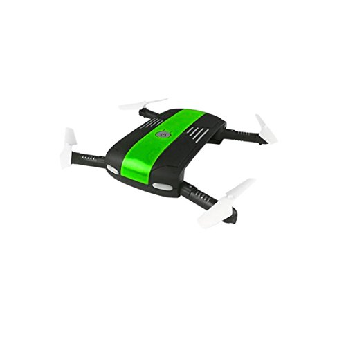 QUINTRA 2.4G 6-Achsen Höhe Hold HD Kamera WiFi FPV RC Quadcopter Drone Selfie Foldable Blau
