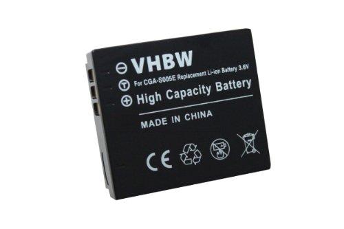 vhbw Li-Ion Akku 750mAh (3.6V) für Kamera, Video, Camcorder Fujifilm FinePix F20, F40fd, F45fd, F47fd wie NP-70. Finepix Camcorder