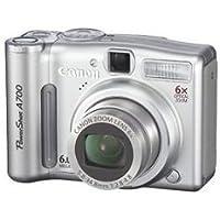 Canon PowerShot A700 Digitalkamera (6 Megapixel, 6fach Zoom)
