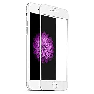 AIBULO 3D-Kantenabdeckung ausgeglichenes Glas-Schirm-Schutz für Iphone 6 / Iphone 6s (für Iphone 6 / Iphone 6s, Weiß)