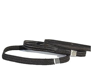 HAARSTYLING-Haarbänder-SET -> 1 x Anti-Rutsch Haarband (schwarz) + 2 x Breite elastische Stirnbänder breit (schwarz) + 10 kleine gewellte Haarnadeln + 10 große gewellte Haarnadeln