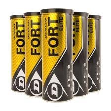 Dunlop Fort Elite Tennisball 5 x 4er Dosen 20 Bälle