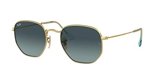 Ray-Ban Unisex-Erwachsene 0RB3548N Sonnenbrille, Schwarz (Gold), 50