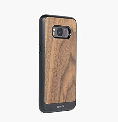 Mous Protective Case Galaxy S8 - Walnut - Screen Protector Included