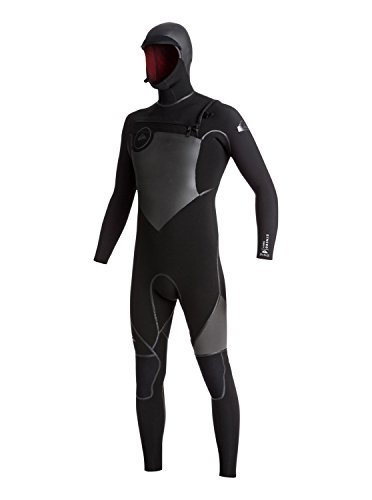 Quiksilver 5/4/3mm Syncro Plus - Hooded Chest Zip GBS Wetsuit for Men - Männer Zip-hooded Thermal
