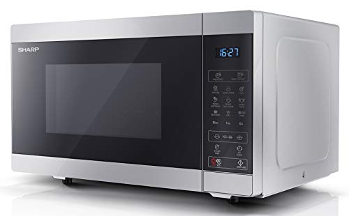 Sharp YC-MG51U-S 25L 900W Digital Touch Control Microwave with 1000W Grill - Silver