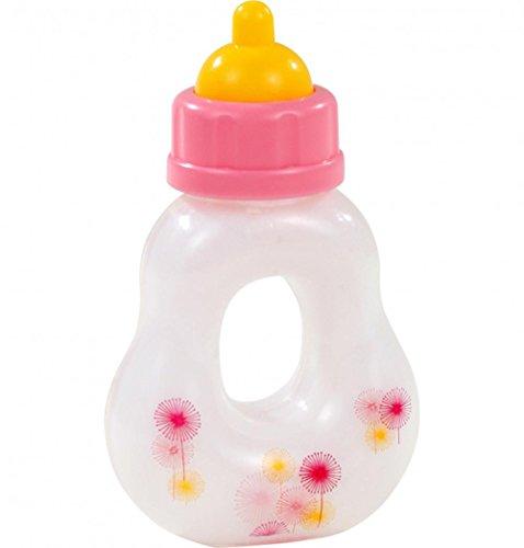 """Götz 3402518 Trinkflasche / Magic Milk Bottle für alle Steh- und Babypuppen, Design """"happy flowers magic milk"""", geeignet für alle Puppen"""