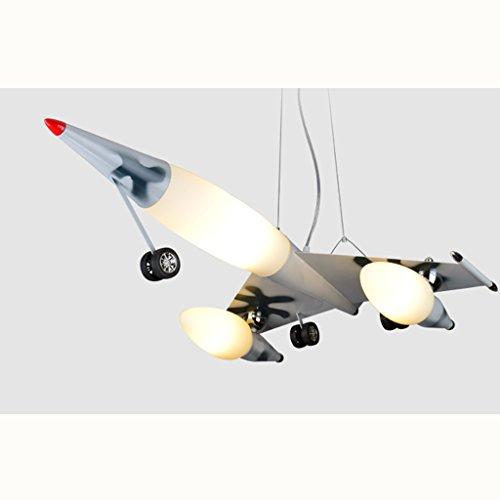 Guo Kinderzimmer Schlafzimmer Lichter Kämpfer Kreative Kronleuchter Junge Flugzeug Lichter Eisen E27 Lampenanschluss - 2