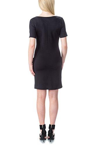 bellybutton Damen Kleid Karlie - Kleid 1/4 Arm Blau (total Eclipse 3000)