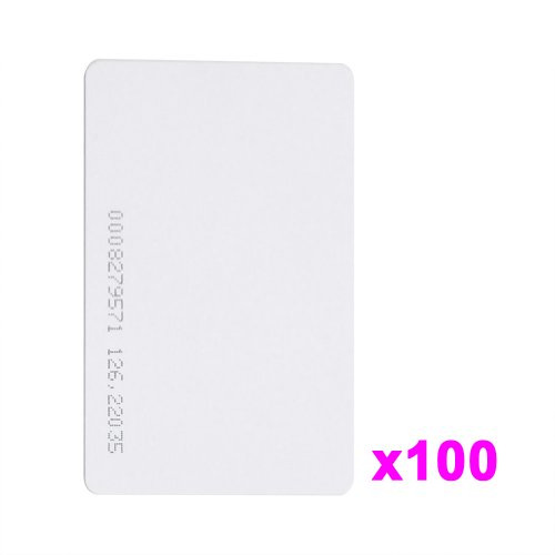 100 piezas 125Khz ID Card RFID sistema Control