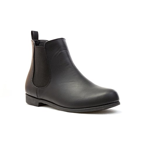 Lilley Womens Black Low Heel Chelsea Boot - Size 5 UK -...