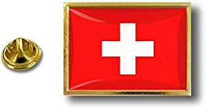 Spilla Pin pin's Spille spilletta Giacca Bandiera Distintivo Badge Svizzera