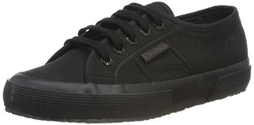 Superga 2750 Cotu Classic Mono, Unisex-Erwachsene Sneaker, Schwarz (997), 37 EU (4 UK)