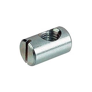 RONFAR Quermutterbolzen M6 x 10 x 13 mm 50 Stück