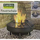 Feuerschale Feuerkorb aus Stahl Ø × H: ca. 75 × 44 cm