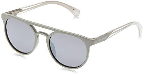 Calvin klein jeans sonnenbrille ckj822s 7 occhiali da sole, grigio (grau), 51.0 unisex-adulto