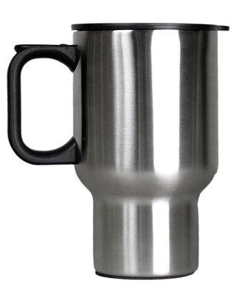 Relags Edelstahl Thermobecher 'Auto' Becher, Silber, 0.45 Liter