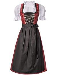 9716a87d5609d Suchergebnis auf Amazon.de für: Rot - Dirndl / Damen: Bekleidung