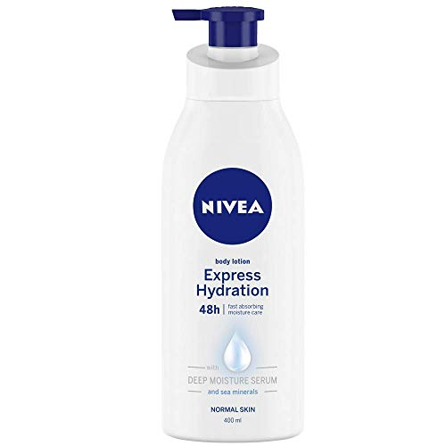 NIVEA Body Lotion, Express Hydration With Sea Minerals, 400ml