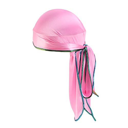 Amorar Unisex Sports Kopftuch Bandana Herren Damen Laser Beanie Turban Kopf Wraps Hip Hop Mantel Hut Fahrrad Helmmütze Laufen Mütze Piraten Skull Cap Atmungsaktiv (Damen Hüte Piraten)