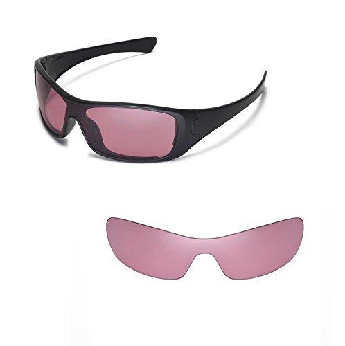 Walleva Ersatz-Objektive für Oakley Antix Sonnenbrille-20Optionen erhältlich, Unisex-Erwachsene, Rose