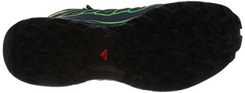 Salomon X Ultra Mid 2 Gtx, Bottes de Randonnée Homme, Noir green
