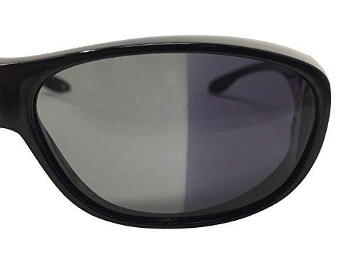 Sonnenüberbrille Überzieh Sonnenbrille PHOTOCHROMIC EDITION selbsttönende Gläser polarisiert UV 400 (Schwarz)